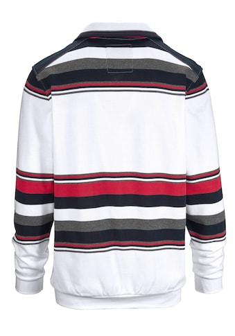 Babista Sweatshirt mit garngefärbtem Streifendessin kaufen