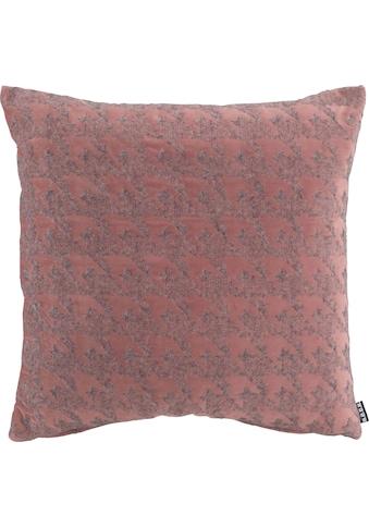 H.O.C.K. Dekokissen »Puno«, mit rosa Muster kaufen