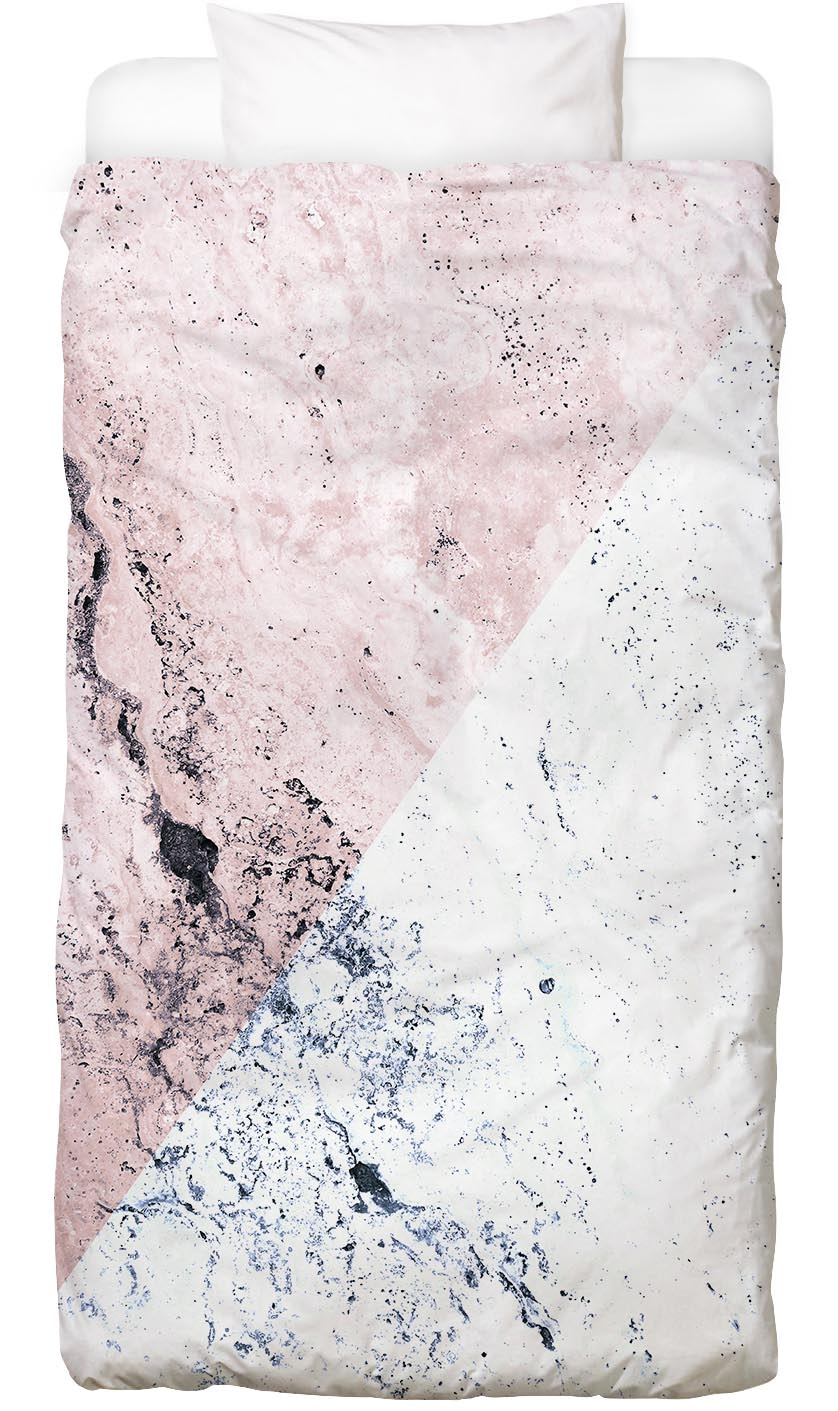 Bettwäsche Rose Geo Marble Juniqe
