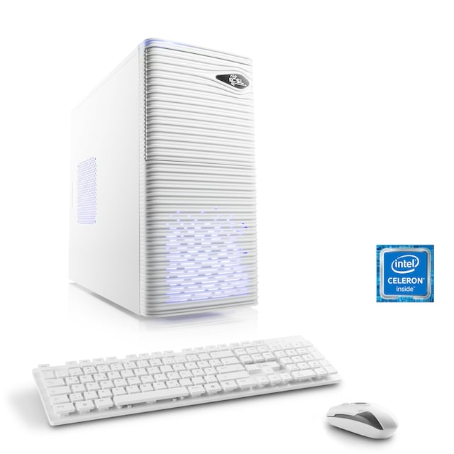 CSL Office PC | Intel QuadCore | Intel HD | 8 GB RAM | 1 TB HDD »Speed T1913 Windows 10 Home«
