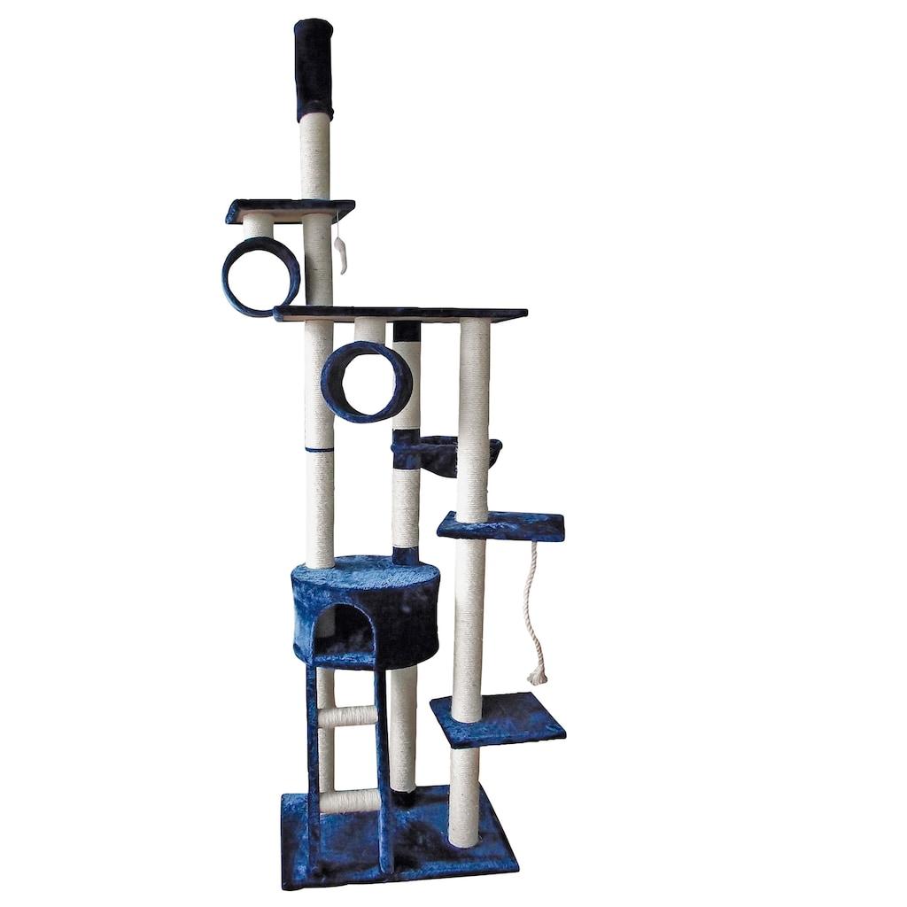 SILVIO design Kratzbaum »Mikesch«, hoch, BxTxH: 80x60x240-250 cm