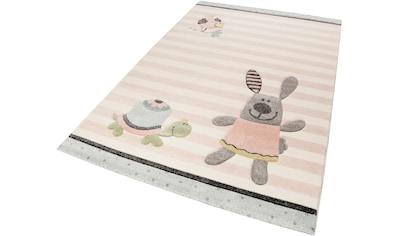 Kinderteppich, »Happy Friends«, Sigikid, rechteckig, Höhe 13 mm, maschinell gewebt kaufen
