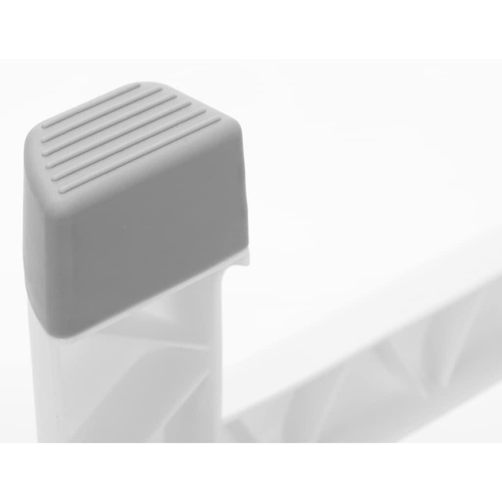 Fillikid Babywanne »Vario, grau/weiß«, inkl. Temperaturmessung