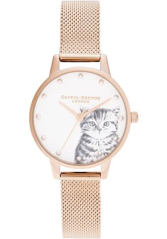 OLIVIA BURTON Quarzuhr »ILLUSTRATED ANIMALS, OB16WL88« kaufen