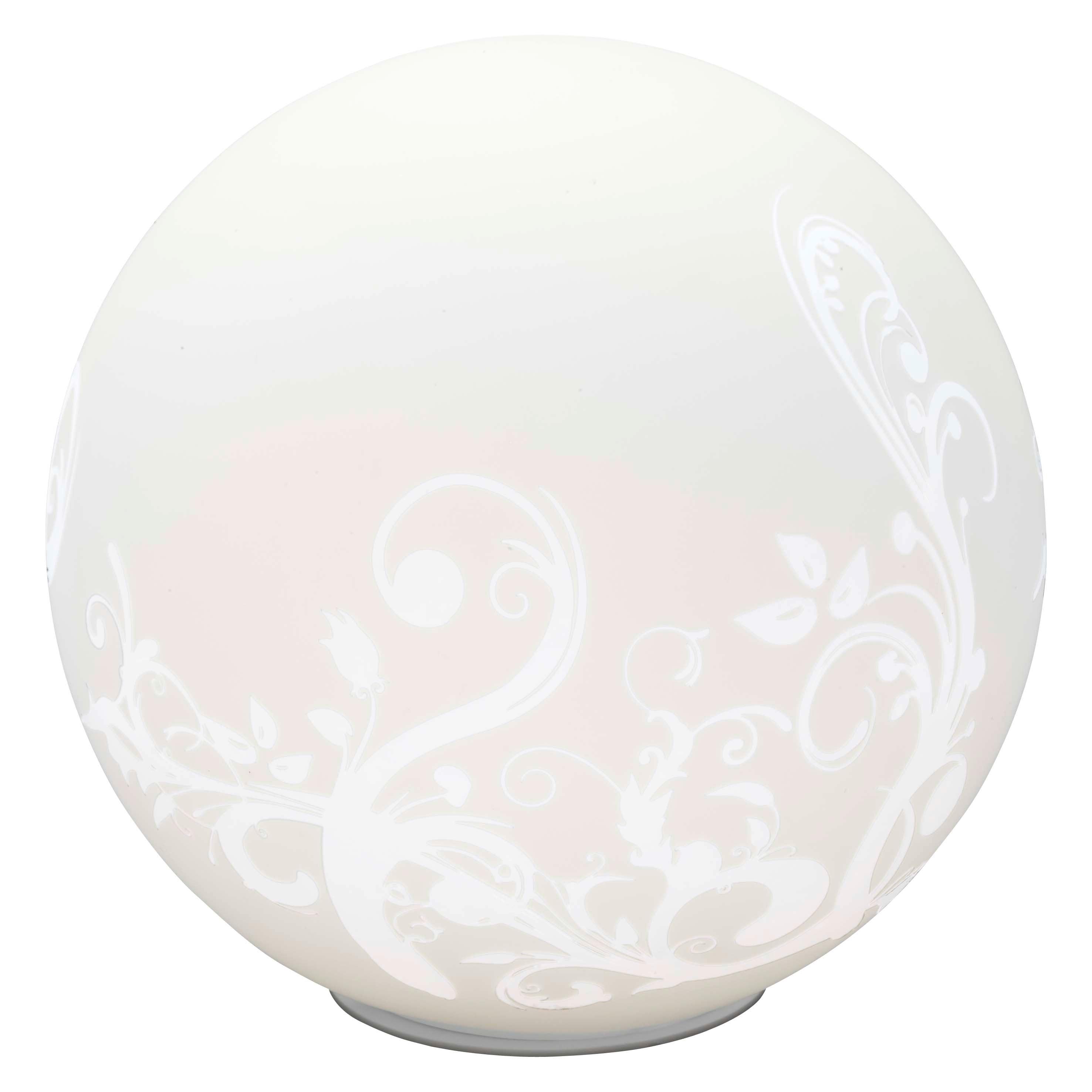 Brilliant Leuchten Bona Tischleuchte weiß