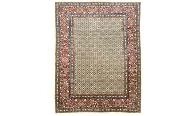 morgenland Wollteppich »Moud Teppich handgeknüpft beige«, rechteckig, 10 mm Höhe kaufen