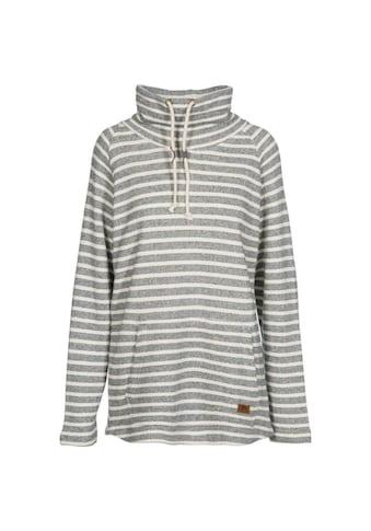 Trespass Sweatshirt »Damen Cheery mit weitem Stehkragen, gestreift« kaufen