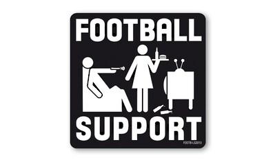 LOGOSHIRT Untersetzer mit Football Support – Partnerschaft und Ehe Motiv kaufen