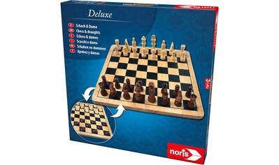 Noris Spiel »Deluxe Holz - Schach & Dame« kaufen