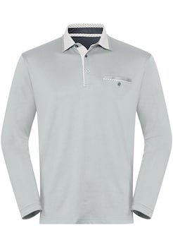 Poloshirts grau kaufen | BAUR