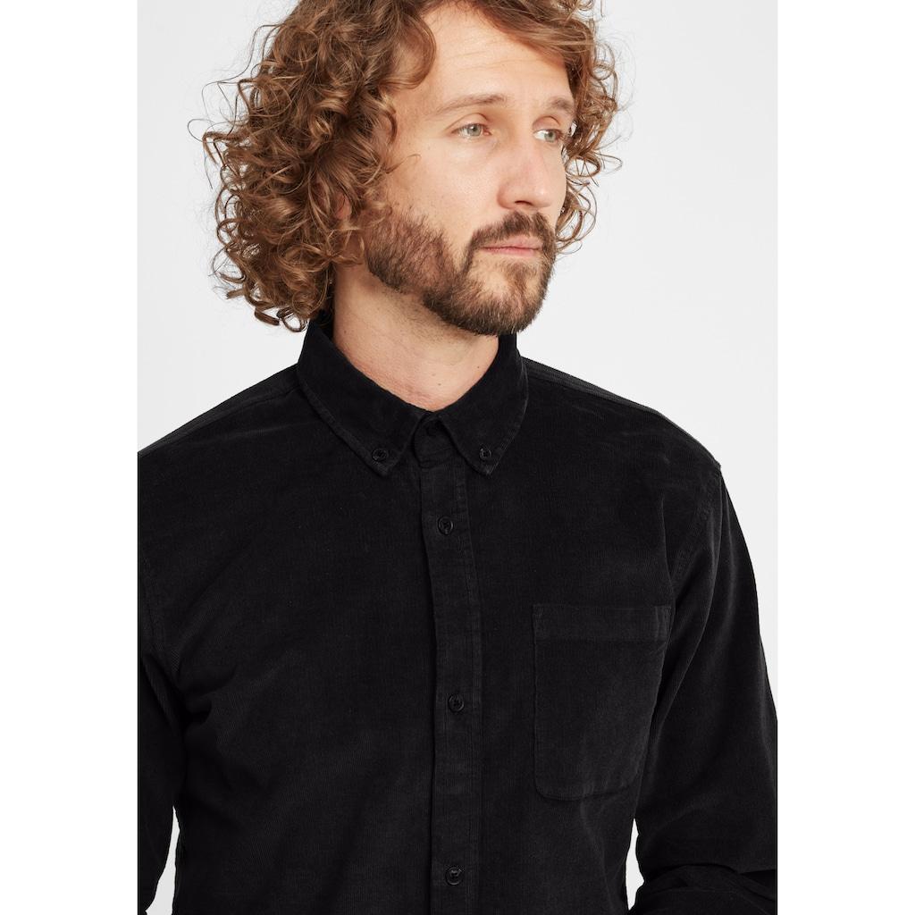Blend Langarmhemd »Clody«, Freizeithemd aus Cord mit Button-Down-Kragen