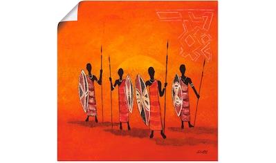 Artland Wandbild »Afrikanische Männer« kaufen