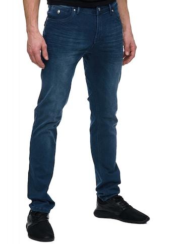 Rusty Neal Chinohose im Slim Fit - Schnitt kaufen