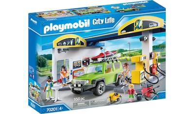 """Playmobil® Konstruktions - Spielset """"Große Tankstelle (70201), City Life"""", Kunststoff, (168 - tlg.) kaufen"""