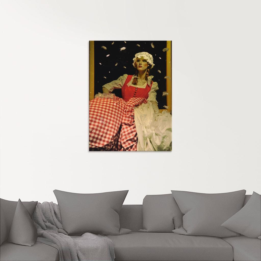 Artland Glasbild »Frau Holle«, Geschichten & Märchen, (1 St.)