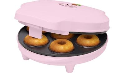 bestron Waffeleisen »Donut-Maker ADM218SDP«, 700 W, im Retro Design, Sweet Dreams,... kaufen
