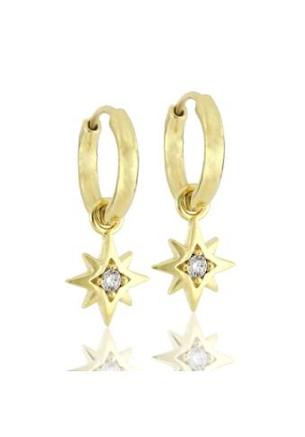 JULES & GENTS Paar Creolen »#polaris Gold« kaufen
