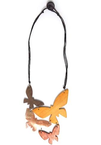 COLLEZIONE ALESSANDRO Kette mit Anhänger »Schmetterling, C2214 - F30« kaufen