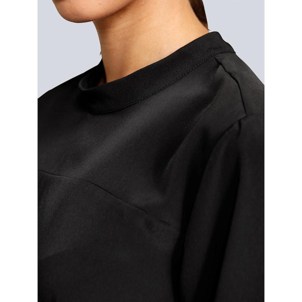 Alba Moda Bluse in modischer Longform