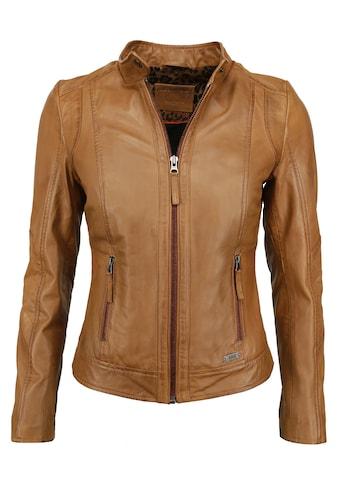 MUSTANG Lederjacke »31019267« kaufen