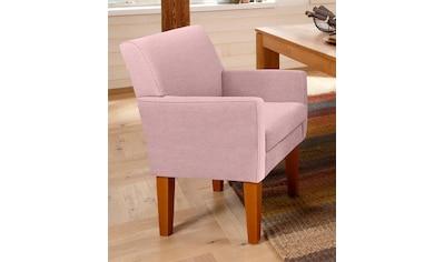 Home affaire Sessel »Fehmarn«, komfortable Sitzhöhe von 54 cm, in 3 verschiedenen Bezugsqualitäten kaufen