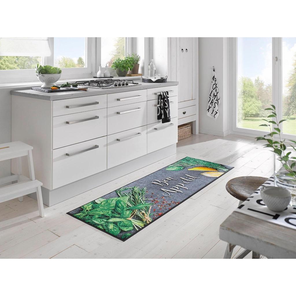 wash+dry by Kleen-Tex Küchenläufer »Bon Appetit«, rechteckig, 7 mm Höhe, waschbar