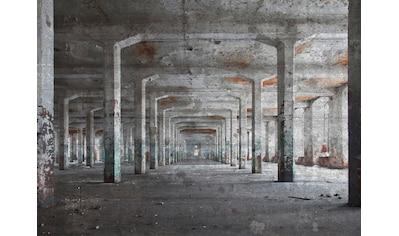 LIVINGWALLS Fototapete »Designwalls Concrete Posts«, Premium Vlies kaufen