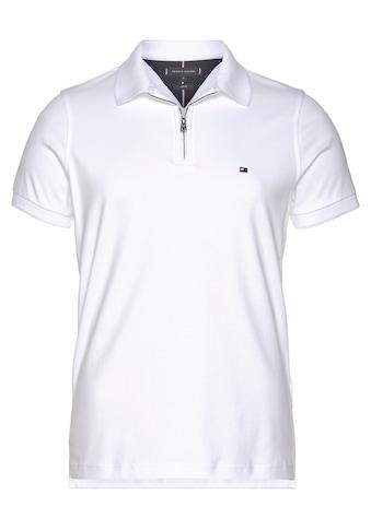 Tommy Hilfiger Poloshirt »INTERLOCK ZIP SLIM POLO« kaufen