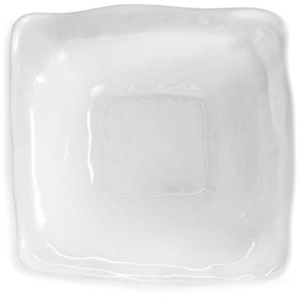 Q Squared NYC Salatschüssel »Ruffle Square«, 33x33 cm