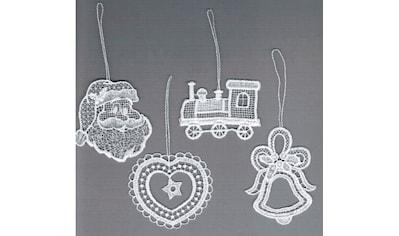 """Stickereien Plauen Baumbehang »Weihnachtsmotive«, Baumbehang """"Weihnachtsmotive"""" kaufen"""