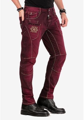 Cipo & Baxx Slim-fit-Jeans, im Antique Look kaufen