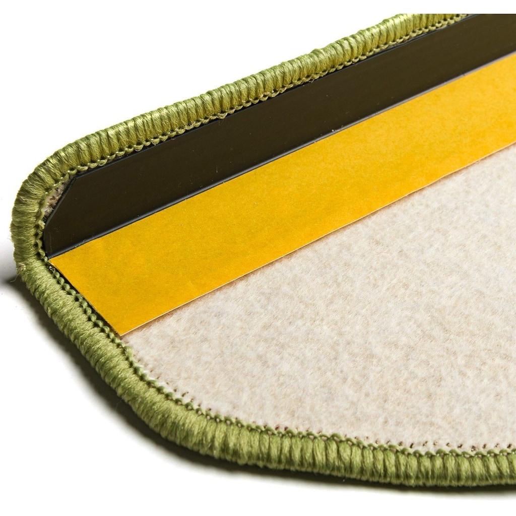 Living Line Stufenmatte »Trend«, halbrund, 8 mm Höhe, 15 Stück, große Farbauswahl, Velours