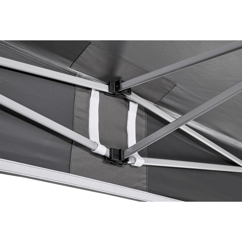 KONIFERA Faltpavillon »Valencia Premium«, BxT: 300x300 cm, Stahlgestell, mit Aufbewahrungstasche