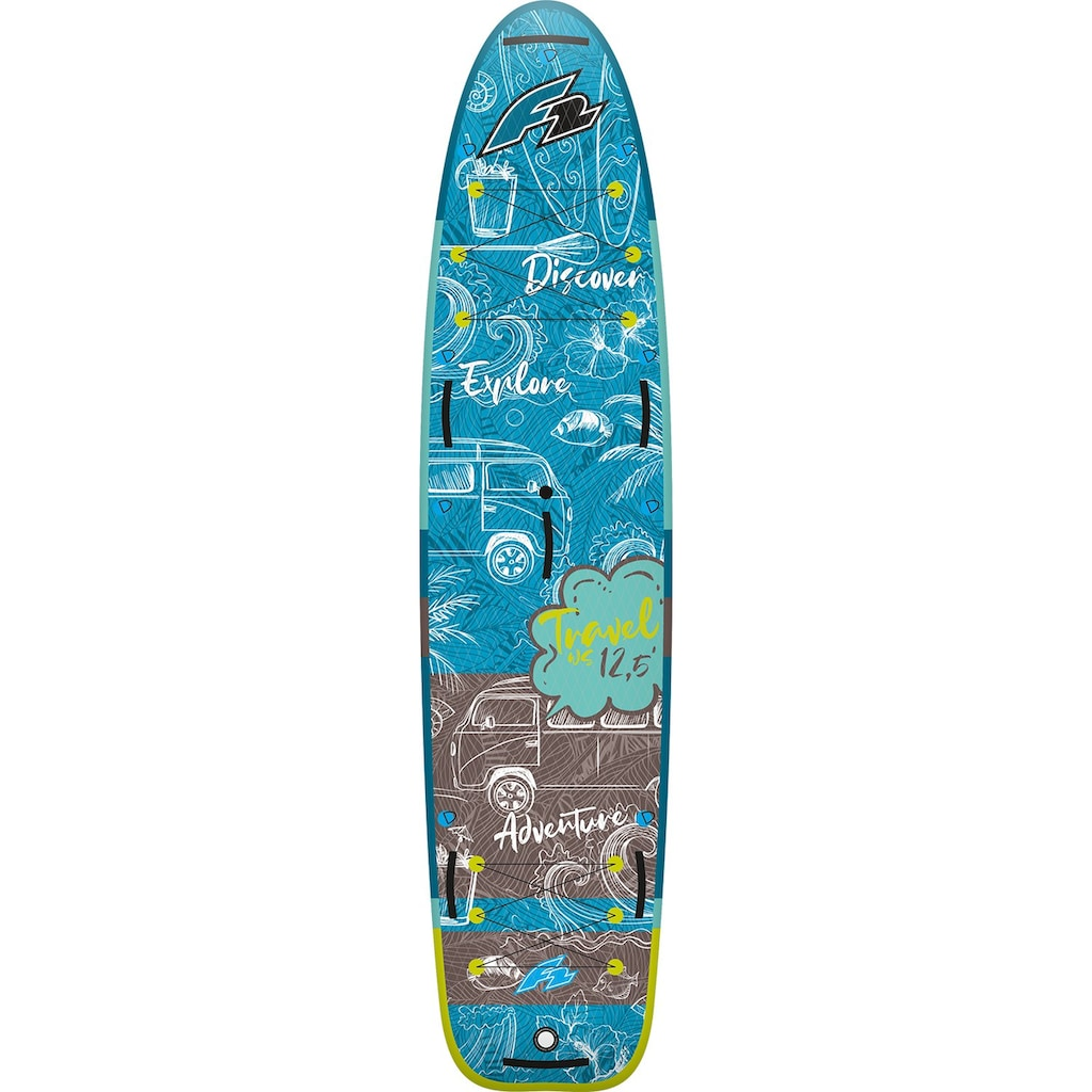 F2 Inflatable SUP-Board »Travel WS«