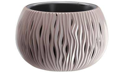 PROSPERPLAST Übertopf »Sandy Bowl«, mocca, ØxH: 29x19 cm kaufen