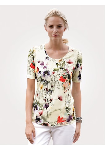 Mona Print-Shirt, mit floralem Dessin kaufen