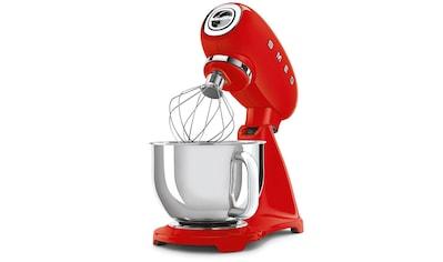 Smeg Küchenmaschine SMF03RDEU, 800 Watt, Schüssel 4,8 Liter kaufen