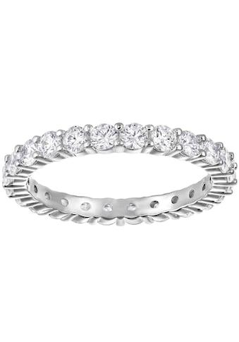 Swarovski Fingerring »VITTORE XL, WEISS, RHODINIERT, 5257465, 5237742, 5257479« kaufen