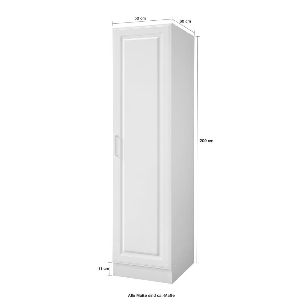 HELD MÖBEL Seitenschrank »Stockholm, Breite 50 cm«, hochwertige MDF-Fronten, 50 cm breit, 200 cm hoch, viel Stauraum