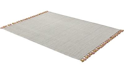 Teppich, »Insula«, SCHÖNER WOHNEN - Kollektion, rechteckig, Höhe 6 mm, handgewebt kaufen