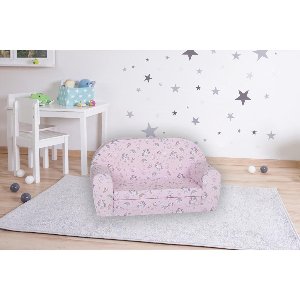 Knorrtoys® Sofa »Rainbow Unicorn«, für Kinder; Made in Europe