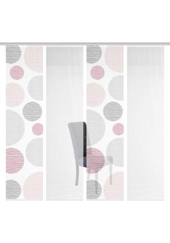 Vision S Schiebegardine »4ER SET BORDEN«, HxB: 260x60, Schiebevorhang 4er Set Digitaldruck kaufen