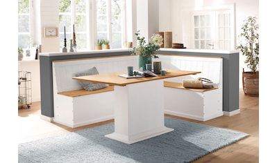 Home affaire Eckbank »Sara«, aus massiver Kiefer in 2 Größen kaufen