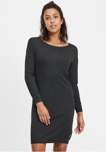 OXMO Strickkleid »Ella«, Kleid mit Rundhals-Ausschnitt kaufen