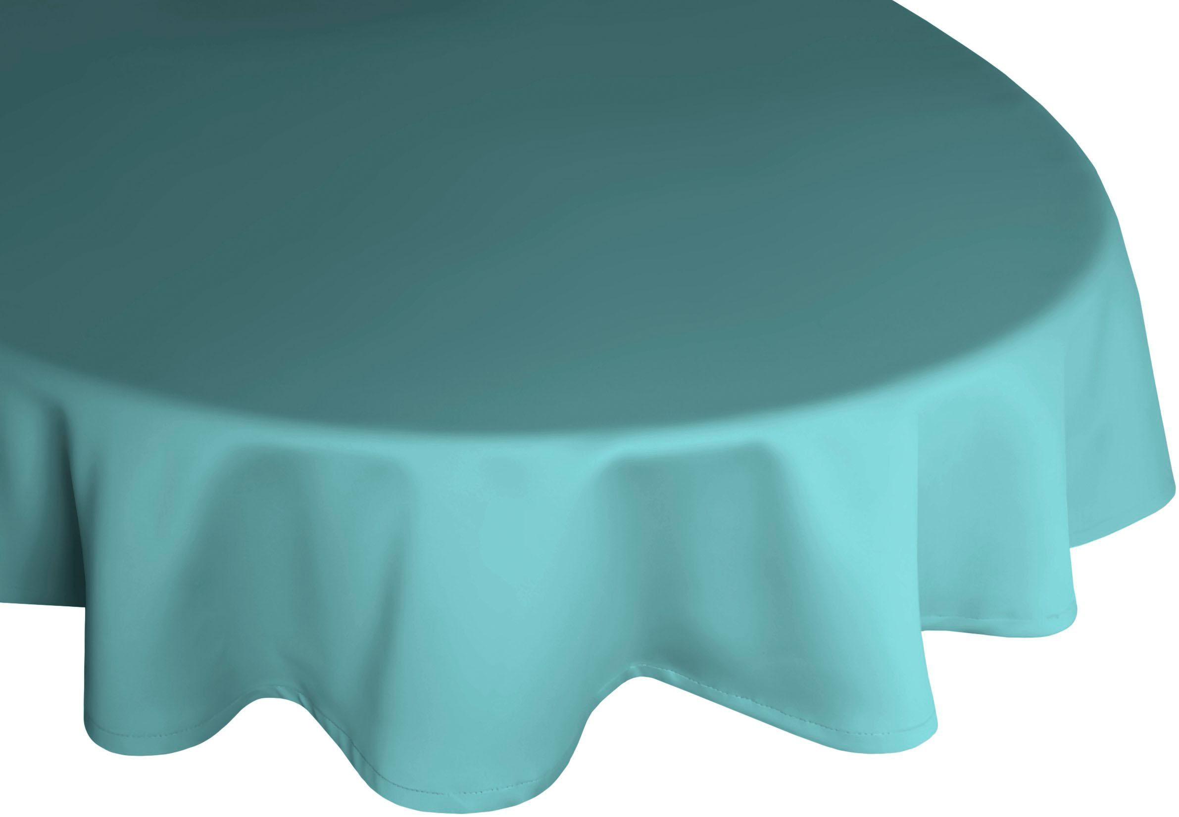 Tischdecke Rund, Wirth, »NEWBURY« | Heimtextilien > Tischdecken und Co > Tischdecken | Blau | WIRTH