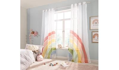Lüttenhütt Gardine »Regenbogen« kaufen
