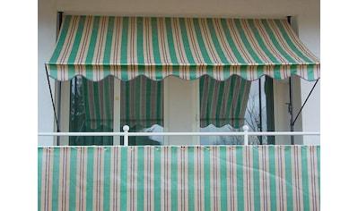Angerer Freizeitmöbel Balkonsichtschutz »Nr. 1900«, Meterware, grün/beige/braun, H: 90 cm kaufen
