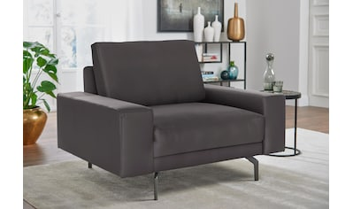 hülsta sofa Sessel »hs.450«, wahlweise in Stoff oder Leder, mit kubischer Armlehne kaufen