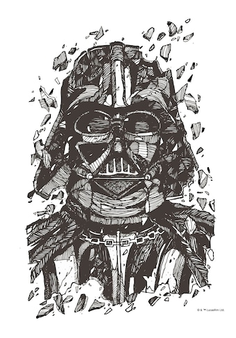 Komar Wandbild »Star Wars Darth Vader Drawing« kaufen