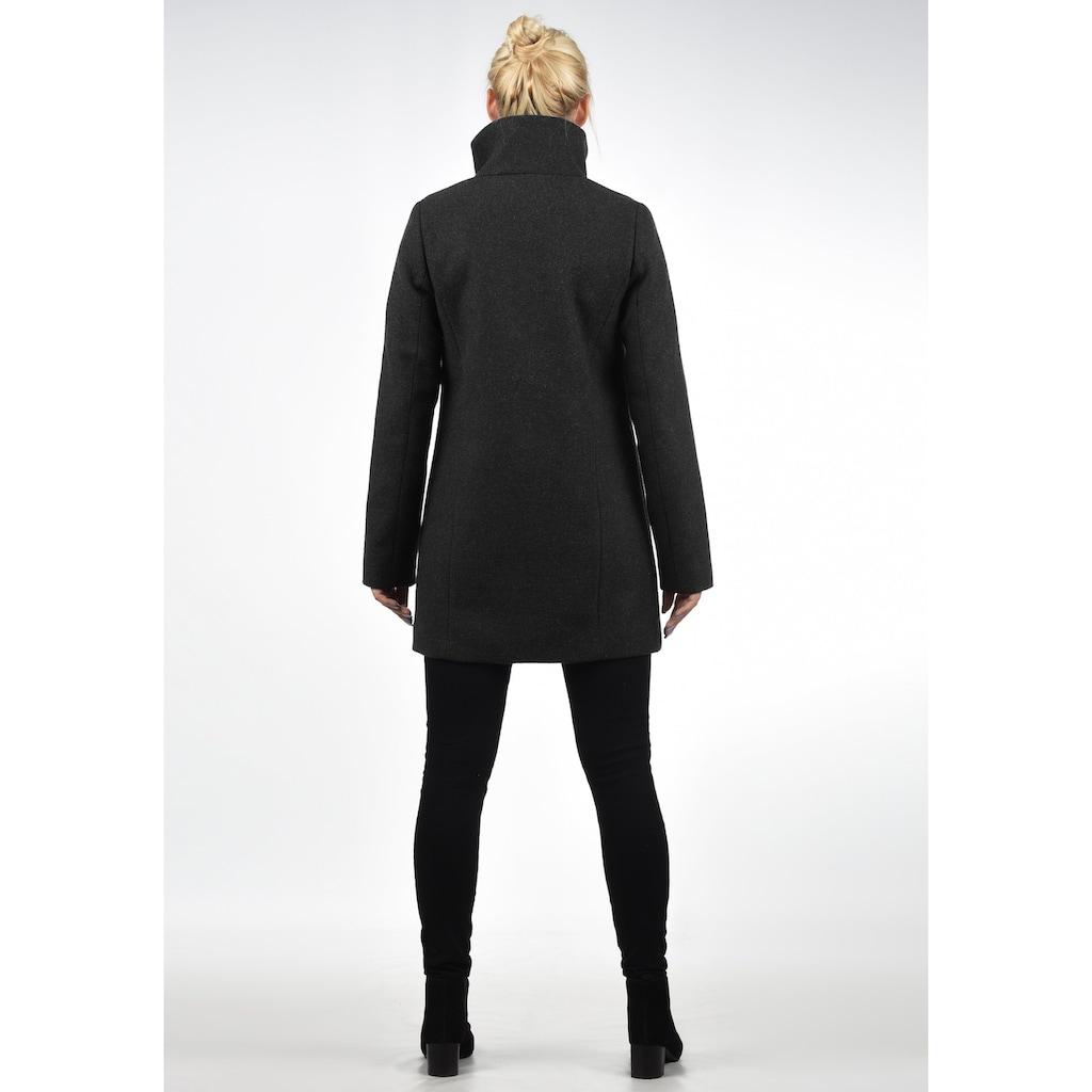DESIRES Wollmantel »Wolke«, Mantel mit hohem Kragen